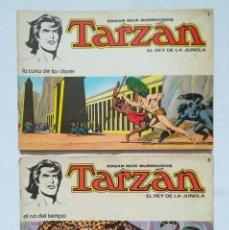 Tebeos: TARZÁN DE EDGAR RICE BURROUGHS NÚMS 1 Y 3 NOVARO 1976. Lote 189355537