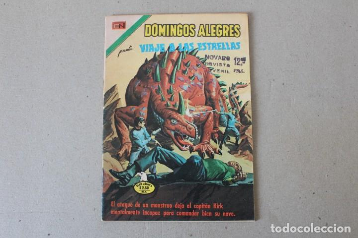 EDITORIAL NOVARO, SERIE AGUILA DOMINGOS ALEGRES - Nº 1127 VIAJE A LAS ESTRELLAS - AÑO 1976 (Tebeos y Comics - Novaro - Domingos Alegres)