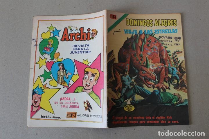 Tebeos: EDITORIAL NOVARO, SERIE AGUILA DOMINGOS ALEGRES - Nº 1127 VIAJE A LAS ESTRELLAS - AÑO 1976 - Foto 3 - 189410601