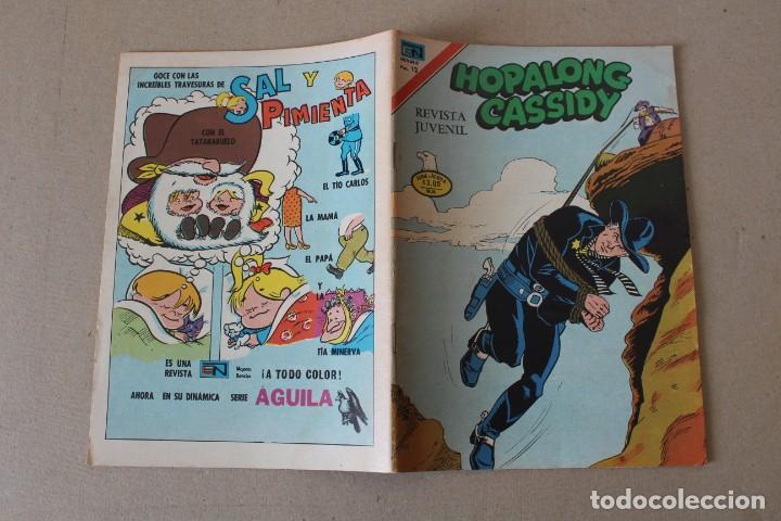 Tebeos: EDITORIAL NOVARO, SERIE AGUILA - Nº 2-260 HOPALONG CASSIDY - AÑO 1976 - Foto 3 - 189416447