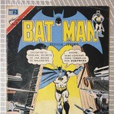 Tebeos: BATMAN Nº 711. EDITORIAL NOVARO 1973. Lote 189501105