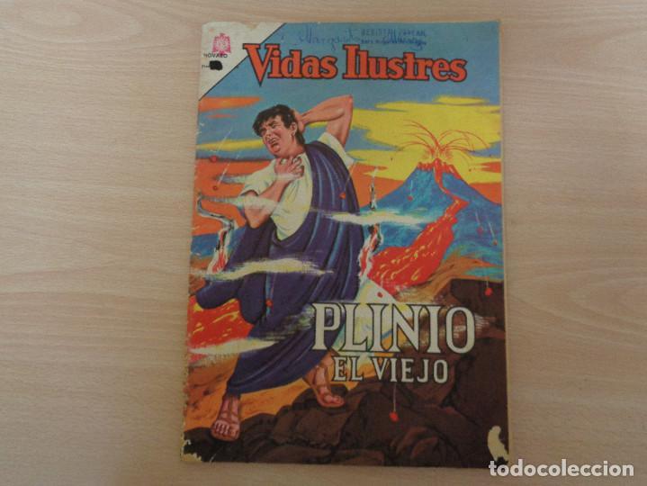 VIDAS ILUSTRES Nº 103. PLINIO EL VIEJO. EDITA NOVARO 1964. (Tebeos y Comics - Novaro - Vidas ilustres)