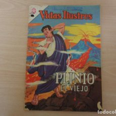 Tebeos: VIDAS ILUSTRES Nº 103. PLINIO EL VIEJO. EDITA NOVARO 1964.. Lote 189513341