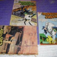 Tebeos: NOVARO - HOPALONG CASSIDY - CONJUNTO 3 EJEMPLARES NºS 158-100 Y 118 -. Lote 189583986