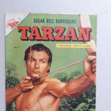 Tebeos: TARZÁN N° 37 - LEX BARKER EN PORTADA - EXCELENTE ESTADO - ORIGINAL EDITORIAL NOVARO. Lote 189617575