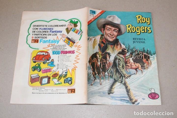 Tebeos: EDITORIAL NOVARO, SERIE AGUILA - Nº 2-366 ROY ROGERS - AÑO 1976 - Foto 3 - 189694257