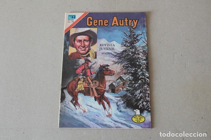 EDITORIAL NOVARO, SERIE AGUILA - Nº 2-349 GENE AUTRY - AÑO 1976 (Tebeos y Comics - Novaro - Otros)