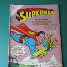 Tebeos: SUPERMAN (1952, ER / NOVARO) 106 · 15-VIII-1957 · SUPERMÁN. Lote 189793045