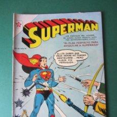 Tebeos: SUPERMAN (1952, ER / NOVARO) 45 · 1-III-1955 · SUPERMÁN. Lote 189793141