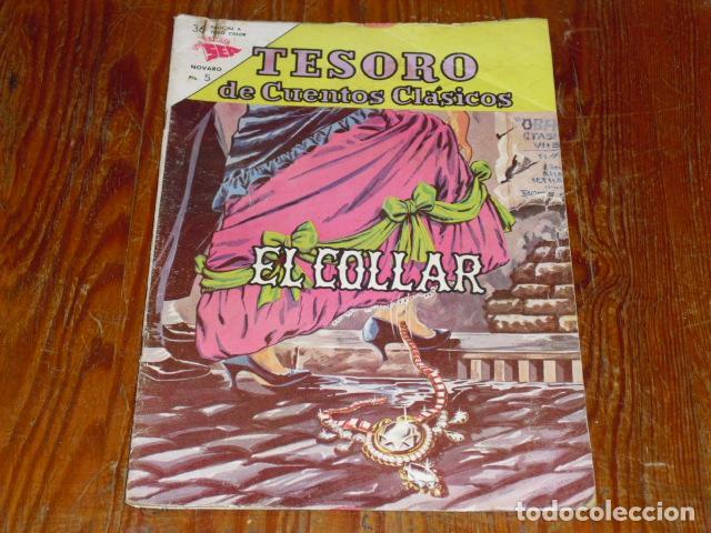 NOVARO Nº 74. TESORO DE CUENTOS CLÁSICOS - 1963 (Tebeos y Comics - Novaro - Otros)