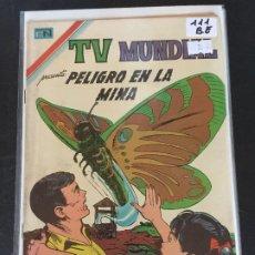 Tebeos: NOVARO TV MUNDIAL NUMERO 111 BUEN ESTADO. Lote 190311882