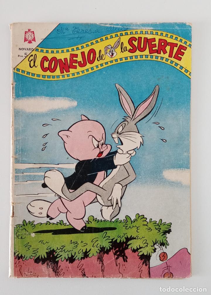 EL CONEJO DE LA SUERTE. NOVARO. NUMERO 222. AGOSTO 1965 (Tebeos y Comics - Novaro - El Conejo de la Suerte)