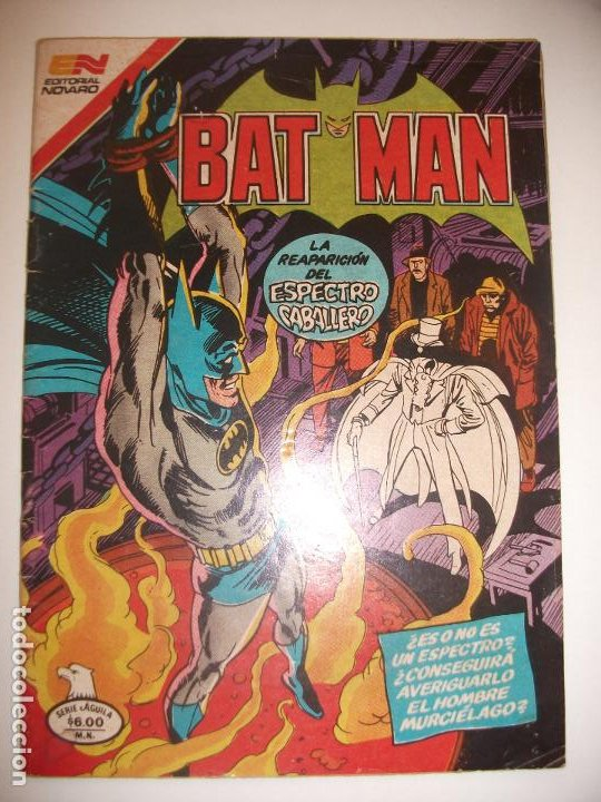 BATMAN SERIE AGUILA 1105 (Tebeos y Comics - Novaro - Batman)
