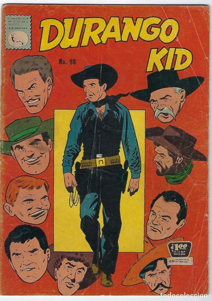 DURANGO KID - Nº 98 - 30 DE NOVIEMBRE DE 1960 *** EDITORIAL LA PRENSA MEXICO*** (Tebeos y Comics - Novaro - Otros)