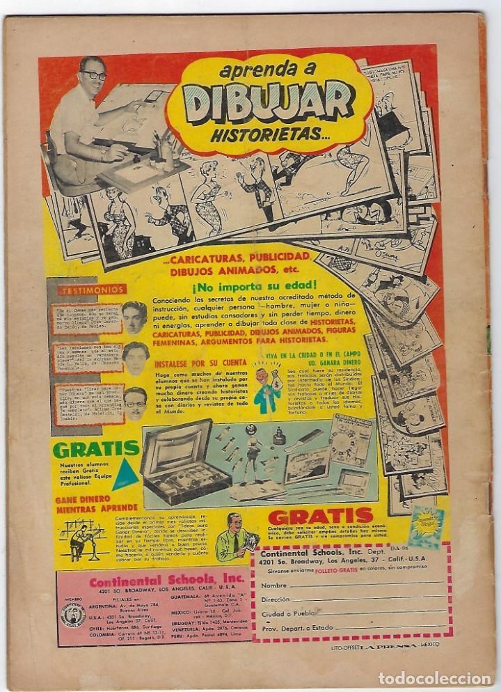 Tebeos: DURANGO KID - Nº 98 - 30 DE NOVIEMBRE DE 1960 *** EDITORIAL LA PRENSA MEXICO*** - Foto 2 - 190913306