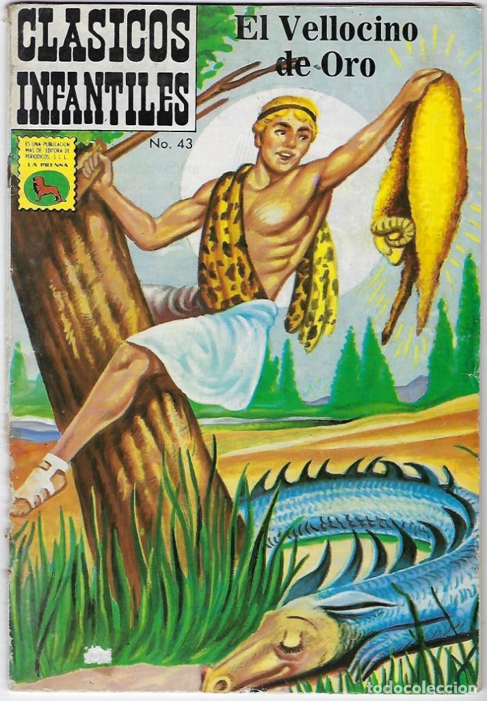 CLÁSICOS ILUSTRADOS INFANTILES Nº 43 - MAYO 23 DE 1974 *** EDITORIAL LA PRENSA MÉXICO*** (Tebeos y Comics - Novaro - Otros)