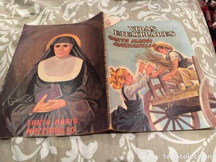 VIDAS EJEMPLARES - Nº 213 - SANTA MARÍA MAZZARELLO -1966 (Tebeos y Comics - Novaro - Vidas ejemplares)
