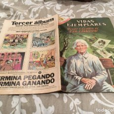 Tebeos: VIDAS EJEMPLARES-Nº 252-OCASO Y GLORIA DE EVA LAVALLIERE-NOVARO 1967. Lote 190981047