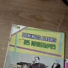 Tebeos: DOMINGOS ALEGRES LA FAMILIA MONSTER -MR MONSTER N.624 1967. Lote 191020976