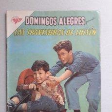 Tebeos: LAS TRAVESURAS DE LUISÍN - DOMINGOS ALEGRES N° 376 - ORIGINAL EDITORIAL NOVARO. Lote 191137576