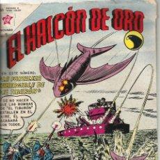 Tebeos: EL ALCON DE ORO Nº 67 AÑO 1963 LA FORTALEZA SUMERGIBLE DEL TIBURON. Lote 191141896