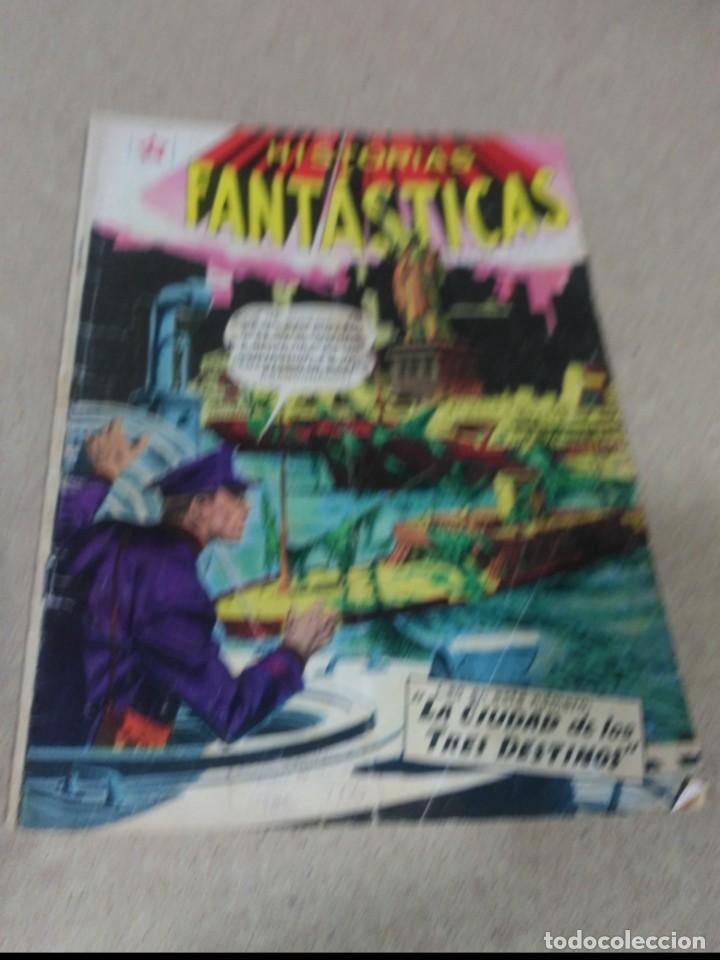 HISTORIAS FANTÁSTICAS Nº 10 (Tebeos y Comics - Novaro - Sci-Fi)