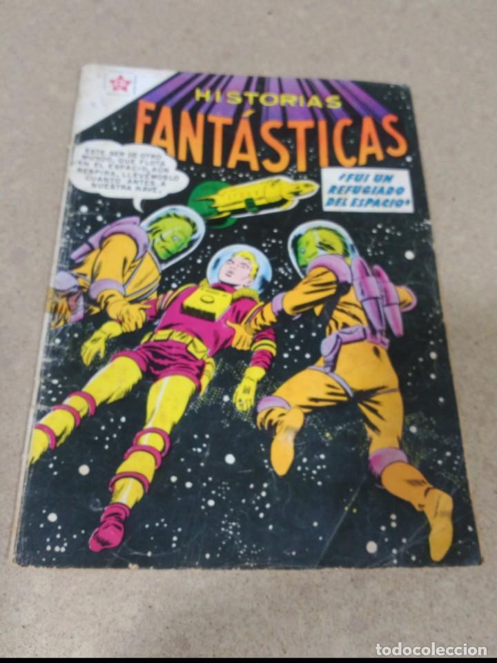 HISTORIAS FANTÁSTICAS Nº 28 (Tebeos y Comics - Novaro - Sci-Fi)