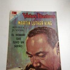 Tebeos: VIDAS ILUSTRES. MARTIN LUTHER KING. AÑO XIII Nº ESPEC. 1968 MÉXICO. ED.: NOVARO. POST ENCUADERNADO. . Lote 191454852
