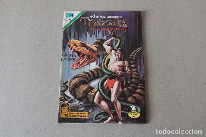 EDITORIAL NOVARO, SERIE AGUILA - Nº 2-518 TARZAN DE LOS MONOS - AÑO 1976 (Tebeos y Comics - Novaro - Tarzán)