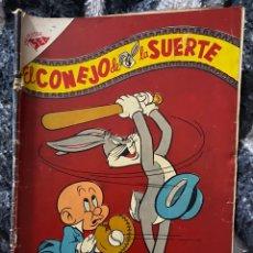 Tebeos: EL CONEJO DE LA SUERTE NÚMERO 68 1956. Lote 191539470