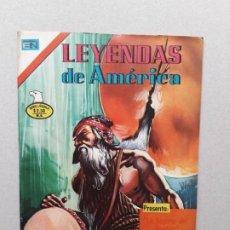 Tebeos: LEYENDAS DE AMÉRICA N° 273 SERIE ÁGUILA - ORIGINAL EDITORIAL NOVARO. Lote 191803218