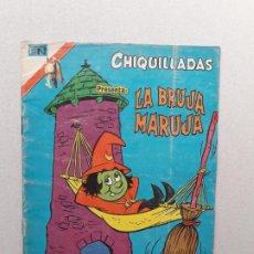 Tebeos: CHIQUILLADAS N° 445 SERIE ÁGUILA - LA BRUJA MARUJA - ORIGINAL EDITORIAL NOVARO. Lote 191833181