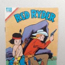 Tebeos: RED RYDER N° 2-455 SERIE ÁGUILA - ORIGINAL EDITORIAL NOVARO. Lote 191863325