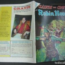 Tebeos: ROBIN HOOD. CLASICOS DEL CINE Nº 129. . NOVARO 1 DE ENERO DE 1965.. Lote 191879463