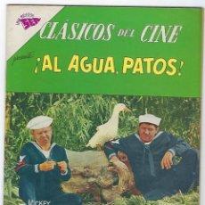 Tebeos: CLÁSICOS DEL CINE: AL AGUA, PATOS - AÑO VII - Nº 89 -15 DE ABRIL DE 1963 **NOVARO**. Lote 191882336