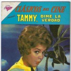 Tebeos: CLÁSICOS DEL CINE: TAMMY, DIME LA VERDAD - AÑO VI - Nº 67 - 15 DE MAYO DE 1962 **NOVARO**. Lote 191886745