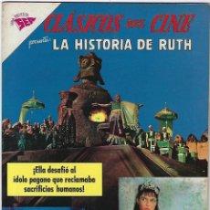 Tebeos: CLÁSICOS DEL CINE: LA HISTORIA DE RUTH - AÑO VI - Nº 64 - 1º DE MARZO DE 1962 **NOVARO**. Lote 191888901
