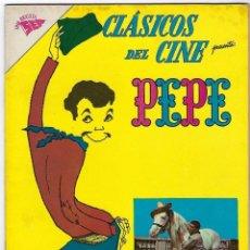 Tebeos: CLÁSICOS DEL CINE: PEPE - AÑO VI - Nº 63 - 1º DE FEBRERO DE 1962 **NOVARO**. Lote 191889113
