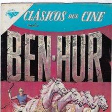 Tebeos: CLÁSICOS DEL CINE: BEN - HUR - AÑO V - Nº 56 - 1º DE JULIO DE 1961 **NOVARO**. Lote 191889377