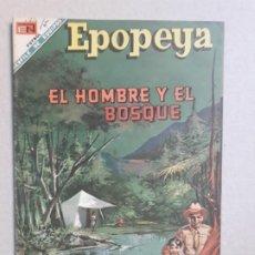 Tebeos: EPOPEYA N° ESPECIAL - EL HOMBRE Y EL BOSQUE - ORIGINAL EDITORIAL NOVARO. Lote 191891896