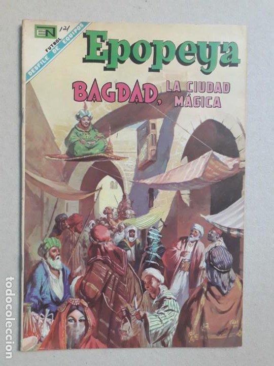 EPOPEYA N° 121 - BAGDAD, LA CIUDAD MÁGICA - ORIGINAL EDITORIAL NOVARO (Tebeos y Comics - Novaro - Epopeya)