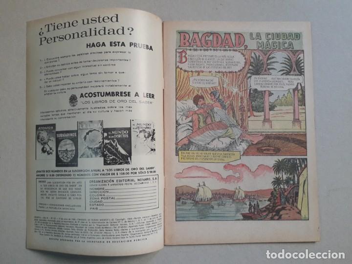 Tebeos: Epopeya n° 121 - Bagdad, la ciudad mágica - original editorial Novaro - Foto 2 - 191892000