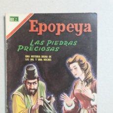 Tebeos: EPOPEYA N° 115 - LAS PIEDRAS PRECIOSAS - ORIGINAL EDITORIAL NOVARO. Lote 191892052