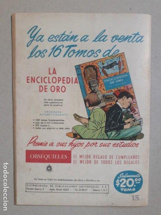 Tebeos: Epopeya n° 51 - El ferrocarril transandino - original editorial Novaro - Foto 3 - 191956041