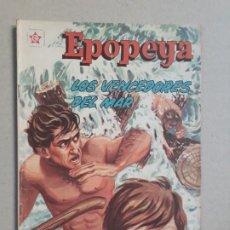 Tebeos: EPOPEYA N° 49 - LOS VENCEDORES DEL MAR - ORIGINAL EDITORIAL NOVARO. Lote 191956136