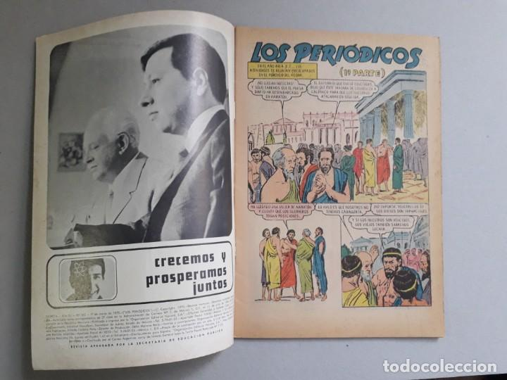 Tebeos: Epopeya n° 142 - Los periódicos n° 1 - original editorial Novaro - Foto 2 - 191957355