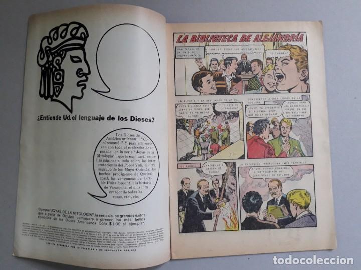 Tebeos: Epopeya n° 100 - La biblioteca de Alejandría - original editorial Novaro - Foto 2 - 191957446