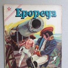 Tebeos: EPOPEYA N° 50 - EL CAÑÓN DE ONDÁRROA - ORIGINAL EDITORIAL NOVARO. Lote 191957580