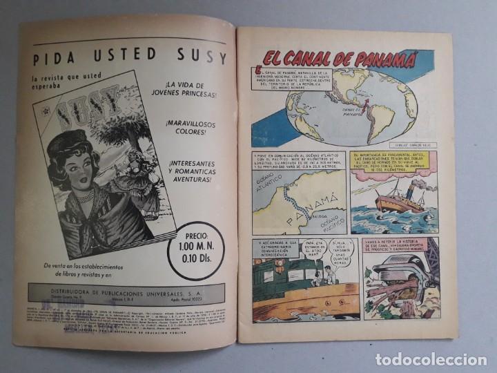 Tebeos: Epopeya n° 43 - El canal de Panamá - original editorial Novaro - Foto 2 - 191957733