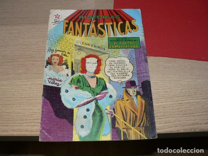 HISTORIAS FANTASTICAS Nº 8 (Tebeos y Comics - Novaro - Otros)